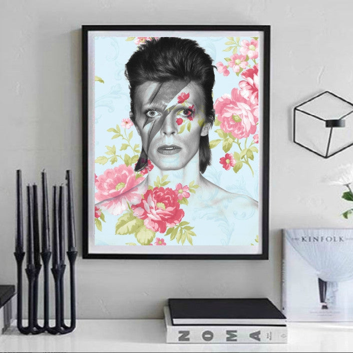 David Bowie Artwork by Lisa Jaye