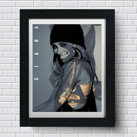 Ciara Art Print, Wall Art, Poster, Artwork, Canvas