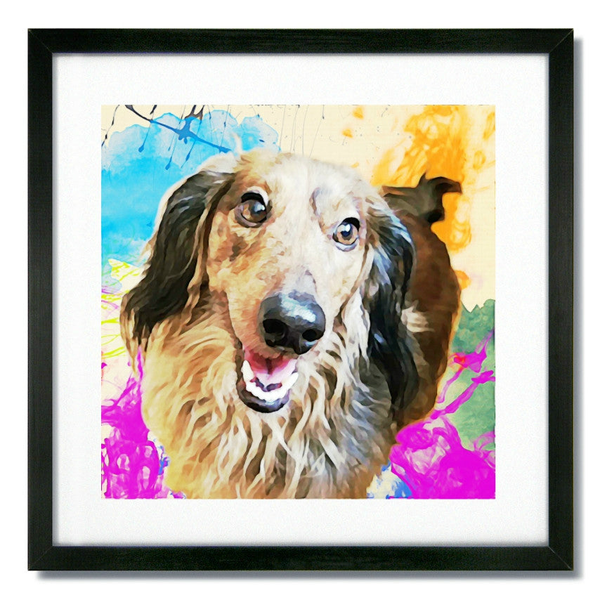 Custom Pet Art - Watercolor Style