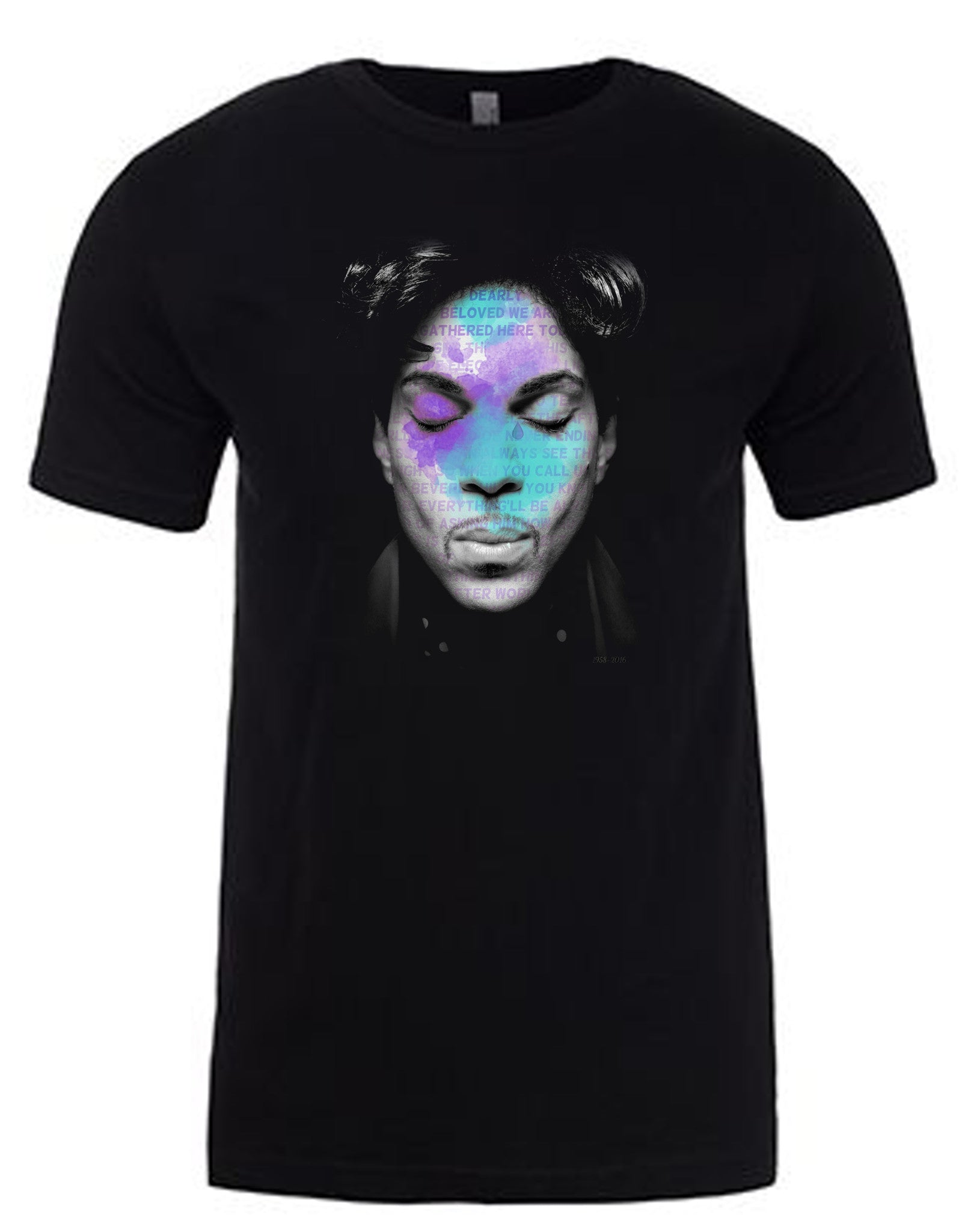 "Prince ""Let's Go Crazy"" T-Shirt by Lisa Jaye"