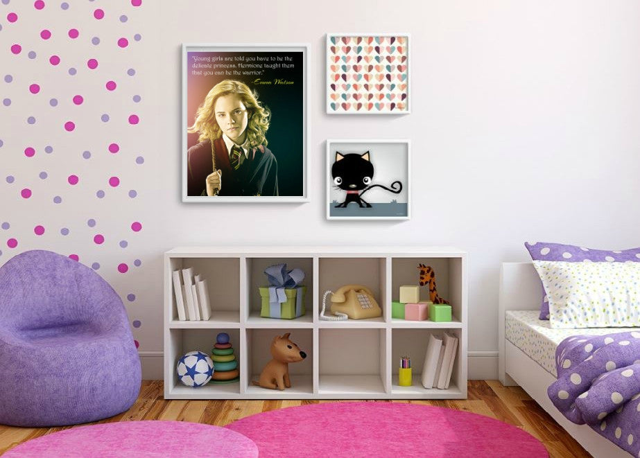 Emma Watson Hermione Wall Art  | Lisa Jaye Art Designs