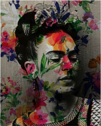 Frida Kahlo Artwork by Lisa Jaye