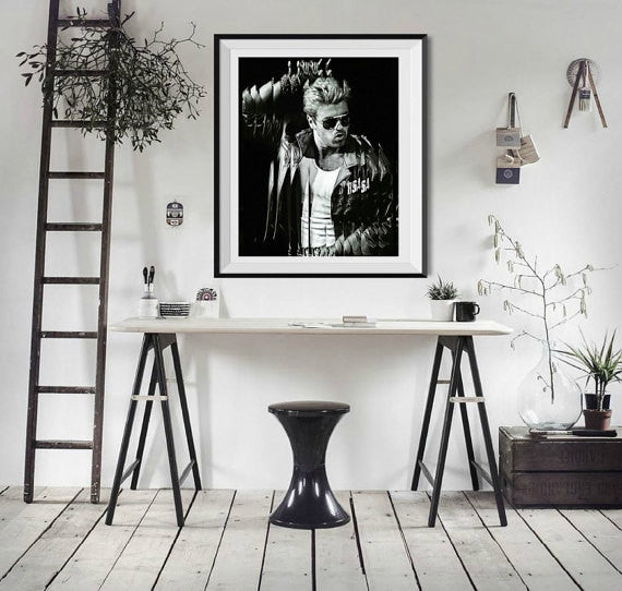 George Michael Artwork, Poster, Canvas
