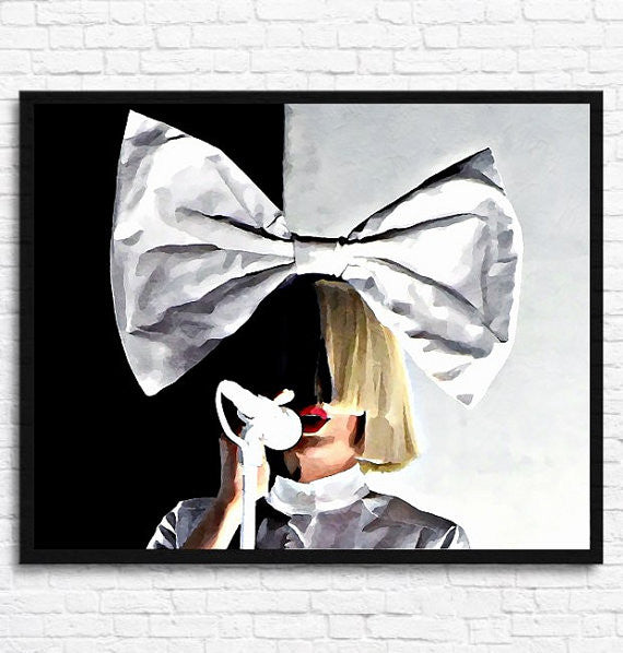 Sia Wall Art by Lisa Jaye