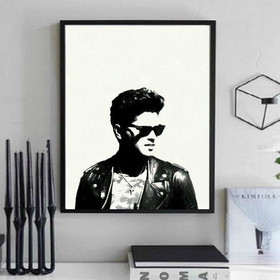 Bruno Mars Wall Art
