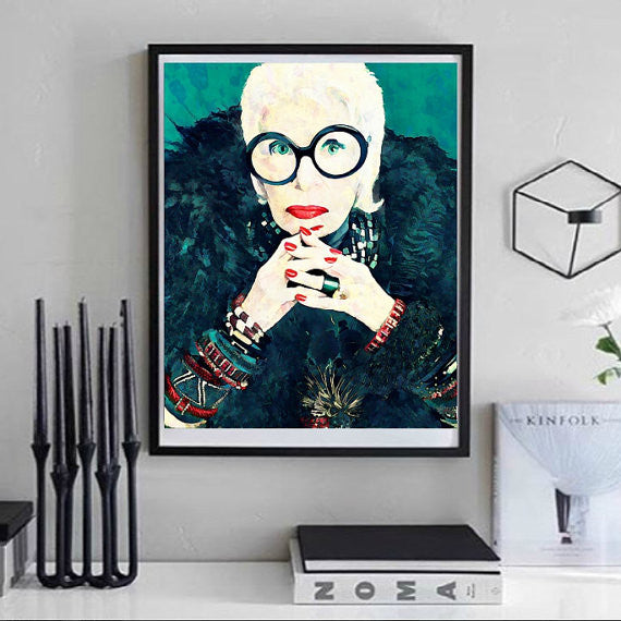 Iris Apfel Wall Art