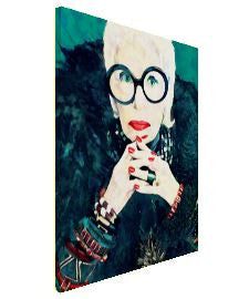Iris Apfel Wall Art  | Lisa Jaye Art Designs