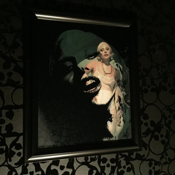 Lady Gaga American Horror Story Art for Sale by Lisa Jaye