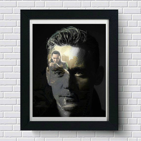 Loki Tom Hiddleston Wall Art Artwork Poster
