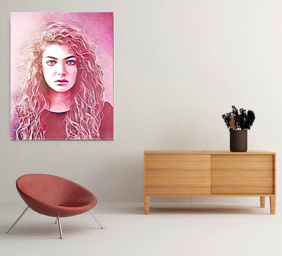 Lorde Wall Art Poster Painting