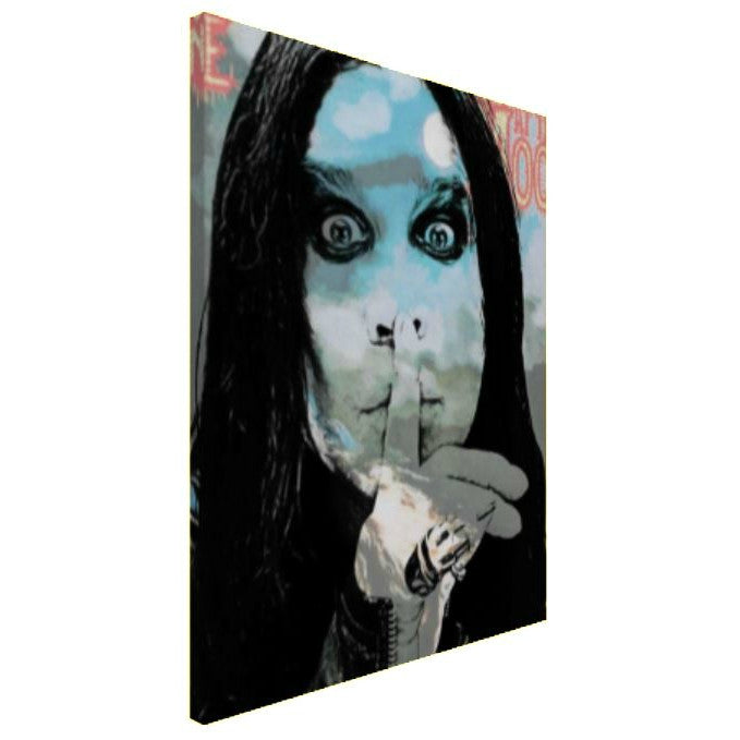 Ozzy Osbourne Wall Art  | Lisa Jaye Art Designs