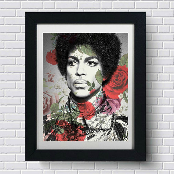 Prince Wall Art by Lisa Jaye