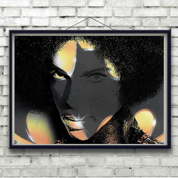 Prince Batdance Wall Art by Lisa Jaye