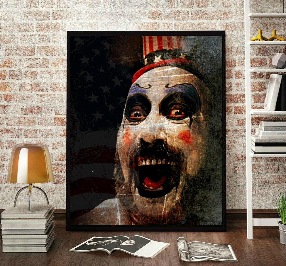 Captain Spaulding Wall Art  | Lisa Jaye Art Designs