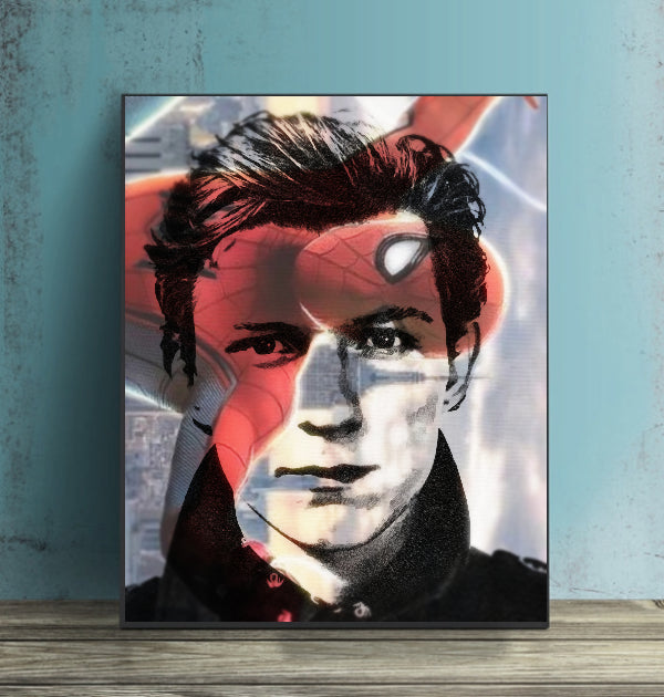 Tom Holland Wall Art Artwork Poster Print Canvas