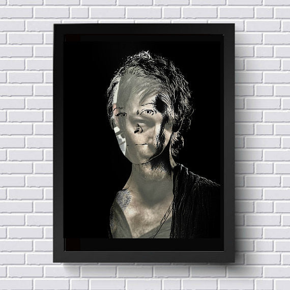 Carol The Walking Dead Wall Art Artwork Canvas Poster Art Print