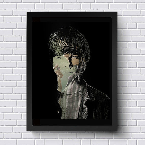 TWD The Walking Dead Carl Wall Art Artwork Poster
