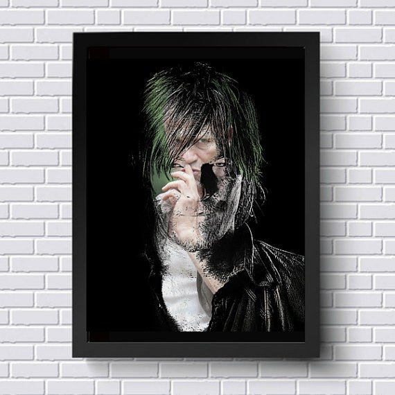 TWD Daryl Dixon Wall Art  | Lisa Jaye Art Designs