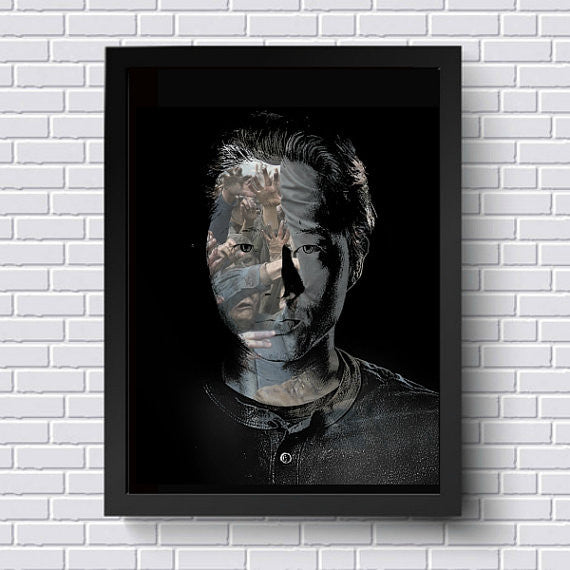 TWD The Walking Dead Glenn Wall Art Artwork Poster