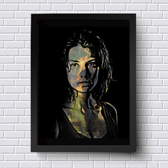 TWD Maggie Wall Art  | Lisa Jaye Art Designs