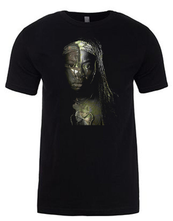 TWD Michonne T-Shirt  | Lisa Jaye Art Designs