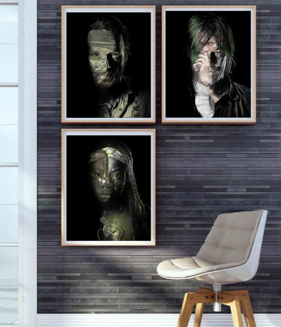 TWD The Walking Dead Wall Art
