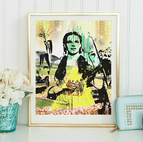 Wizard of Oz Wall Art Print