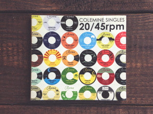 <b>VARIOUS ARTISTS</b><br><i>Colemine Singles: 20 / 45rpm</i> CD