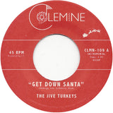 <b>THE JIVE TURKEYS</b><br><i>Get Down Santa</i> [Green vinyl]