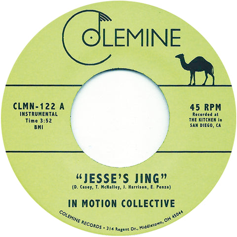 <b>IN MOTION COLLECTIVE</b><br><i>Jesse's Jing</i>