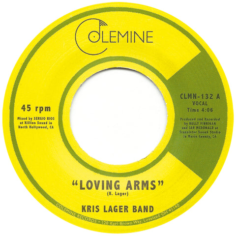 <b>KRIS LAGER BAND</b><br><i>Loving Arms</i>