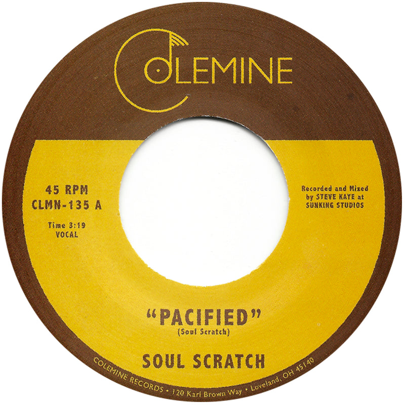 SOUL SCRATCH - Pacified