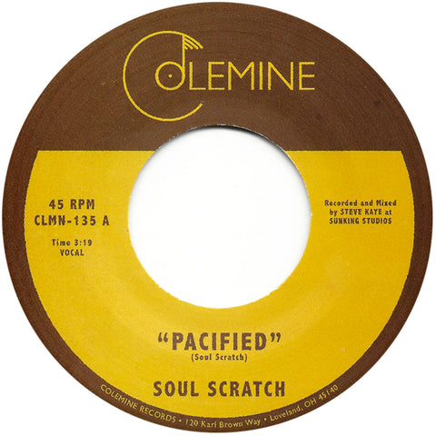 <b>SOUL SCRATCH</b><br><i>Pacified</i>