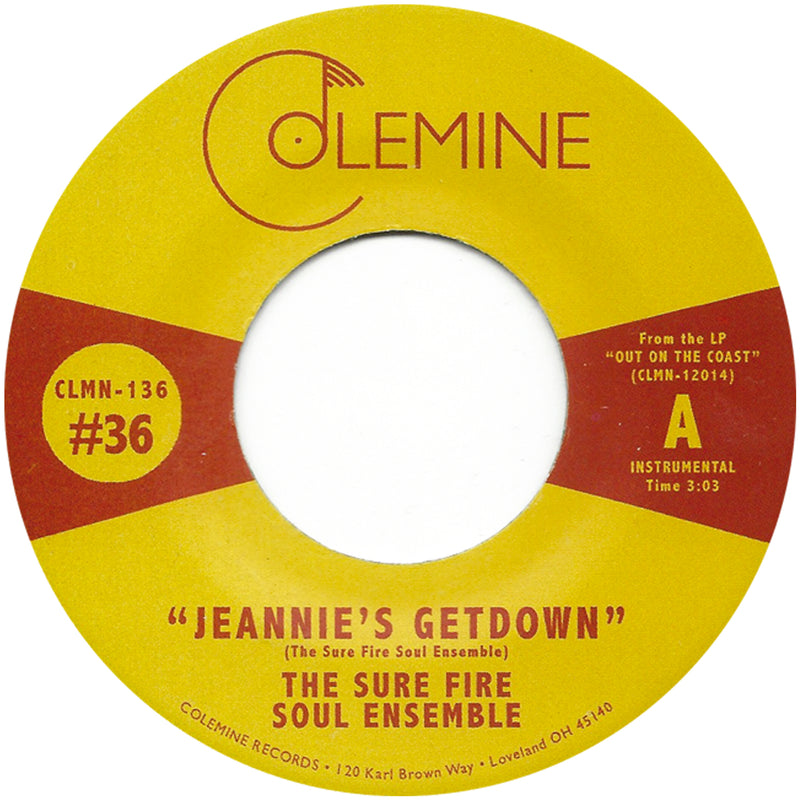THE SURE FIRE SOUL ENSEMBLE - Jeannie's Getdown