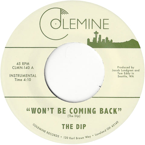 <b>THE DIP</b><br><i>Won't Be Coming Back</i>