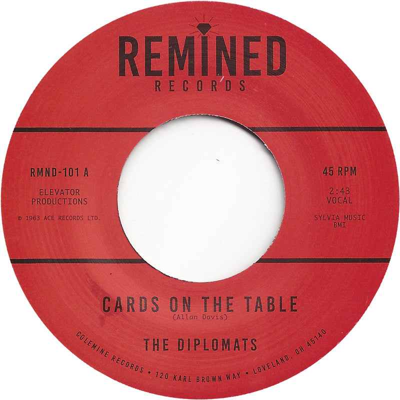 THE DIPLOMATS - Cards On The Table