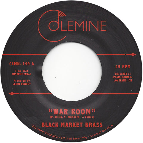 <b>BLACK MARKET BRASS</b><br><i>War Room</i>
