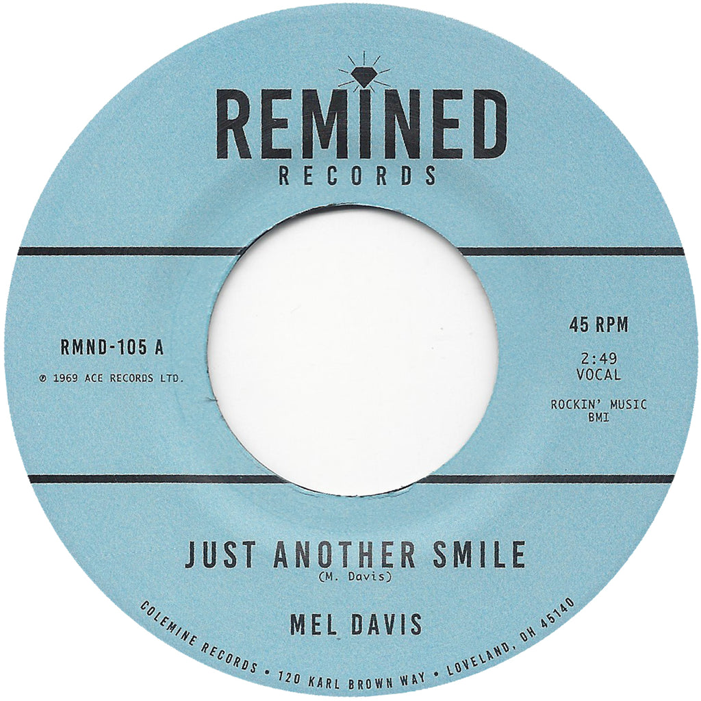 <b>MEL DAVIS</b><br><i>Just Another Smile</i><br>