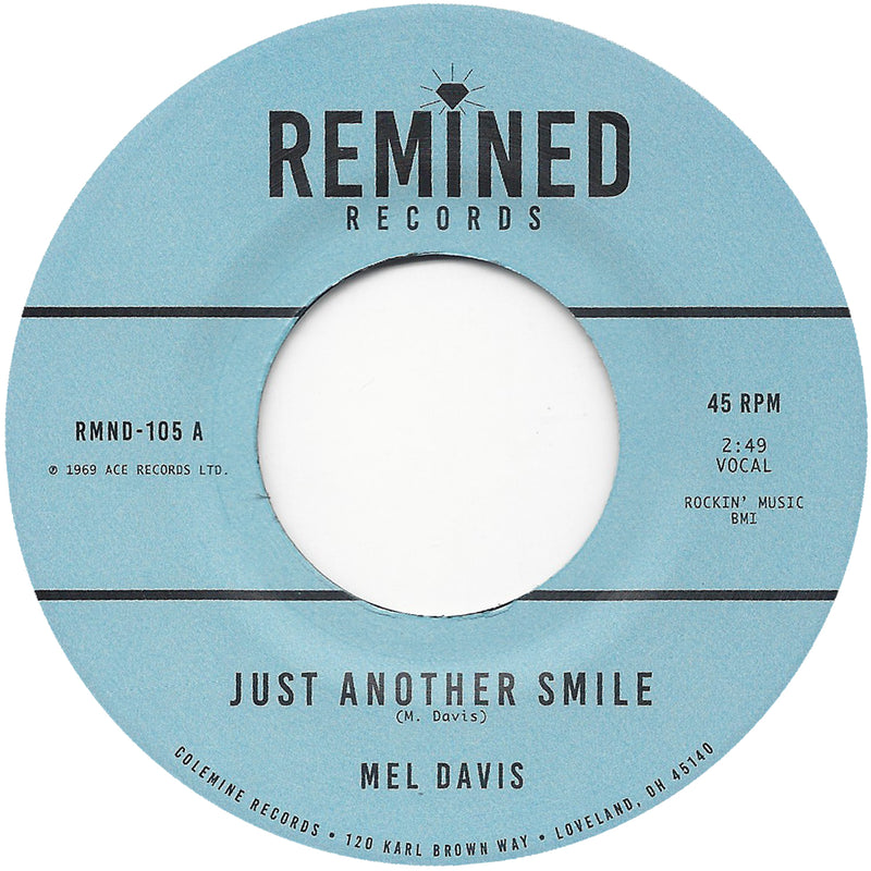 MEL DAVIS - Just Another Smile