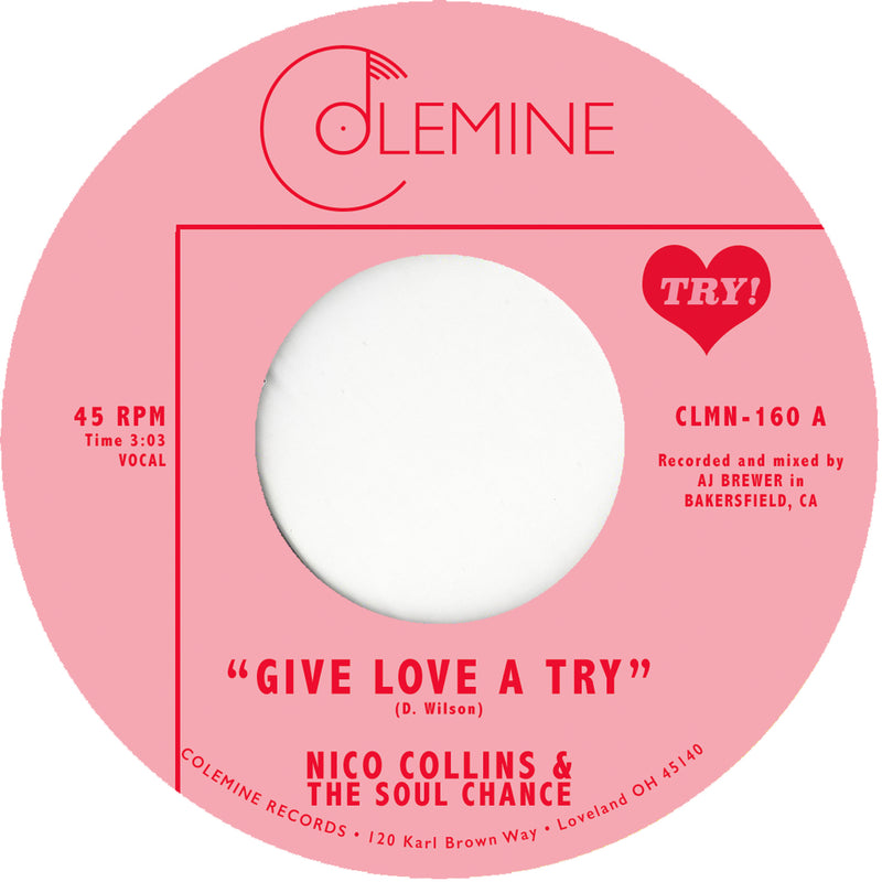 NICO COLLINS & THE SOUL CHANCE - Give Love A Try
