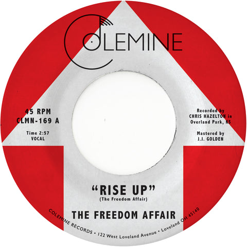 "<b>THE FREEDOM AFFAIR</b><br><i>Rise Up</i><br><span style=""color: #ff0000;"">Release Date: 6/21/19</span>"
