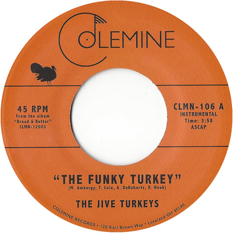 <b>THE JIVE TURKEYS</b><br><i>The Funky Turkey</i>