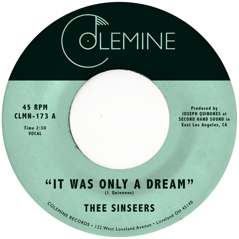 THEE SINSEERS - It Was Only A Dream