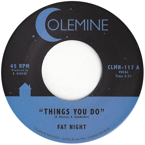 <b>FAT NIGHT</b><br><i>Things You Do</i>
