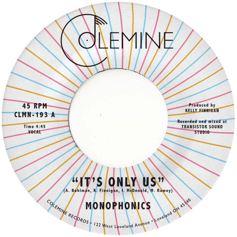 MONOPHONICS - It's Only Us [Release Date: 4/23/21]