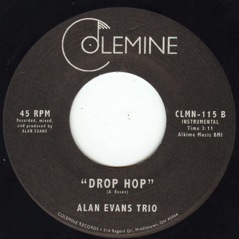 ALAN EVANS TRIO - Authoritay