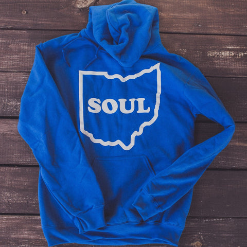 <b>OHIO SOUL HOODIE</b><br>Royal Blue