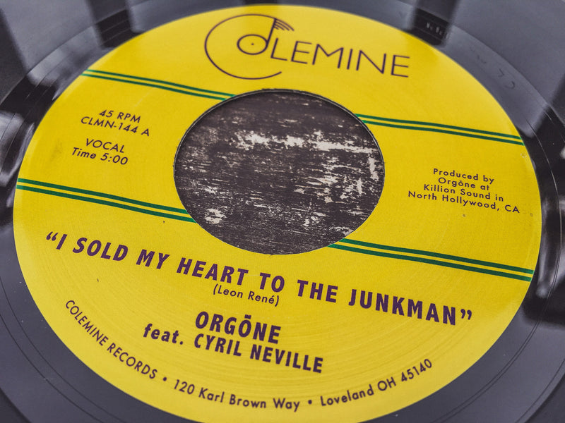 ORGONE - I Sold My Heart To The Junkman