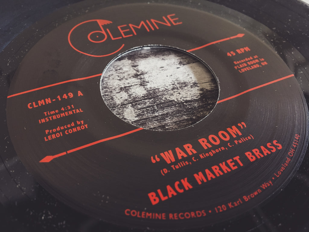 Black Market Brass War Room 45 Mp3 Colemine Records