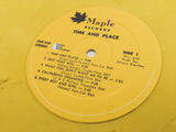 <b>LEE MOSES</b><br><i>Time & Place</i> [Plaid Room Records Exclusive Yellow Vinyl]